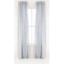 Corsica Linen Rod Pocket Curtain Single Panel