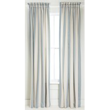 <strong>Pine Cone Hill</strong> Madeline Stripe Curtain Single Panel