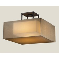 Quadralli 2 Light Semi Flush Mount