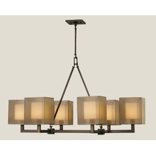 <strong>Fine Art Lamps</strong> Quadralli 6 Light Chandelier
