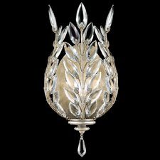 Crystal Laurel 1 Light Wall Sconce