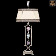 "Encased Gems 38"" H 1 Light Table Lamp"