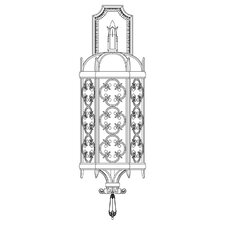 <strong>Fine Art Lamps</strong> Costa Del Sol 3 Light Outdoor Wall Lantern