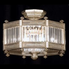 Eaton Place 3 Light Semi-Flush Mount