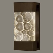 Crystal Bakehouse Indoor/Outdoor 2 Light Wall Sconce
