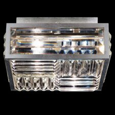Crystal Enchantmen 2 Light Semi-Flush Mount