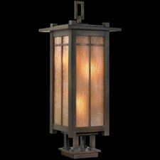 "Capistrano 4 Light 13"" Outdoor Post Lantern"
