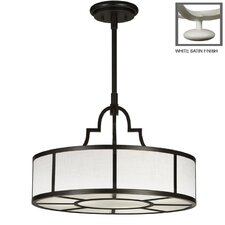 Portobello Road 3 Light Drum Pendant