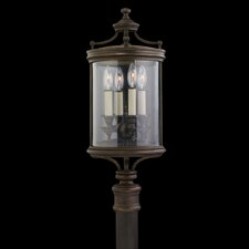 Louvre 4 Light Outdoor Post Lantern Set