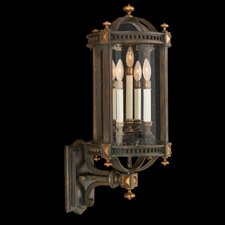 <strong>Fine Art Lamps</strong> Beekman Place 5 Light Outdoor Wall Lantern