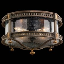 Beekman Place 4 Light Outdoor Flush Mount