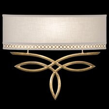 <strong>Fine Art Lamps</strong> Allegretto Gold 1Light Wall Sconce
