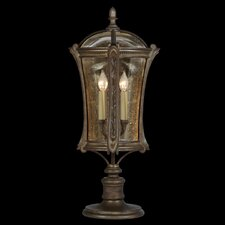 <strong>Fine Art Lamps</strong> Gramercy Park 4 Light Outdoor Post Lantern Set