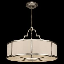 Portobello Road 8 Light Drum Pendant