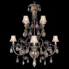 <strong>Fine Art Lamps</strong> A Midsummer Nights Dream  8 Light Chandelier