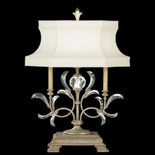 Beveled Arcs 1 Light Table Lamp