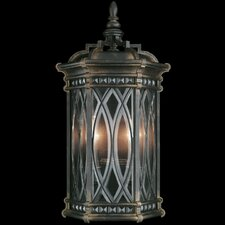 <strong>Fine Art Lamps</strong> Warwickshire 2 Light Outdoor Wall Lantern