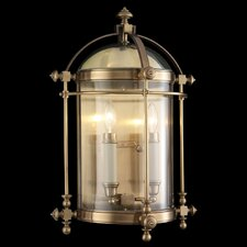 Portsmouth 2 Light Outdoor Wall Lantern