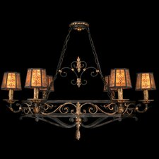 "<strong>Fine Art Lamps</strong> Epicurean 43"" Six Light Island Pendant"