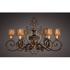 <strong>Fine Art Lamps</strong> Castile 6 Light Chandelier