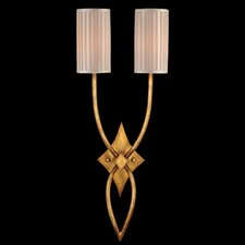 <strong>Fine Art Lamps</strong> Portobello Road Two Light Wall Sconce