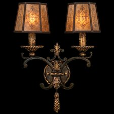 Epicurean 2 Light Wall Sconce