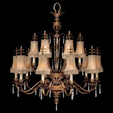 <strong>Fine Art Lamps</strong> Pastiche 16 Light Chandelier
