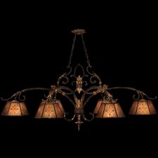<strong>Fine Art Lamps</strong> Villa 1919 6 Light Kitchen Island Pendant