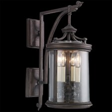 Louvre 4 Light Outdoor Wall Lantern