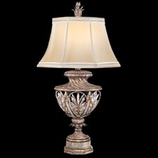 "Winter Palace 37"" H Table Lamp with Bell Shade"