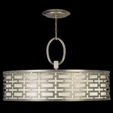 Allegretto Silver 5 Light Pendant