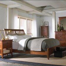 Modern Shaker Slat Bed