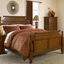 <strong>Cresent Furniture</strong> Casual Living Cannonball Panel Bed