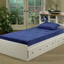 ViscoKidz Memory Foam Mattress in Blue