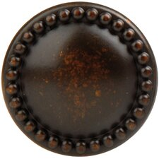 "French Antique 1.18"" Round Knob"
