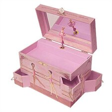 "<strong>Enchantmints</strong> Ballet School Ballerina 7.75"" High Music Treasure Box"
