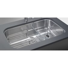 "Oceania 29.94"" x 18.94"" Undermount Kitchen Sink with Ledge"
