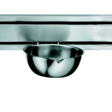 "<strong>Franke</strong> Rail System 8.5"" Kitchen Bowl in Stainless Steel"