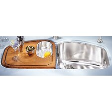 "45.44"" x 20.88"" Vision Double Bowl Kitchen Sink"