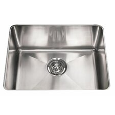 "Professional 23.81"" x 18.13"" Under Mount Kitchen Sink"