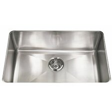 "Professional 31.88"" x 18.13"" Under Mount Kitchen Sink"