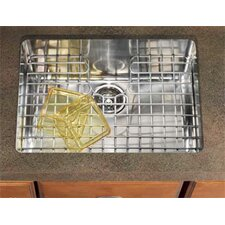"Kubus 23.25"" x 17.31"" Single Bowl Kitchen Sink"