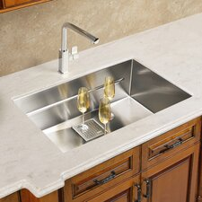 "<strong>Franke</strong> Peak 17.75"" x 14.56"" Single Bowl Kitchen Sink"