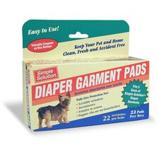 Dog Diaper Garment Pads (22 Count)