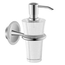 HansaMurano Liquid Soap Dispenser in Chrome