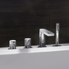 <strong>Hansa</strong> HansaStela Double Handle Deck Mount Roman Tub Faucet Trim