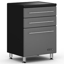 "<strong>Ulti-MATE</strong> Garage Three Drawer 24"" Base Cabinet"