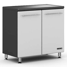 "<strong>Ulti-MATE</strong> Garage Large 36"" Two Door Base Cabinet w/ Adjustable Shelf in Starfire Pearl"