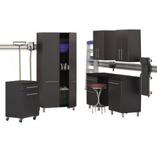 Garage 7-Piece 12' Storage System with Workstation