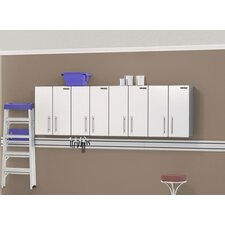 "<strong>Ulti-MATE</strong> Storage 4-Piece 2-Door 24"" Wall Cabinet Kit in Starfire Pearl"